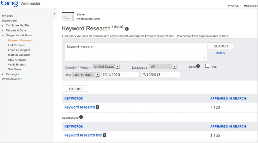 bing-keyword-reasearch